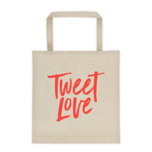 Tweet Love Logo Tote bag