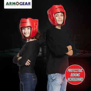 Boxing Headgear 2 Pack - Adjustable Helmets for Boxing Battle