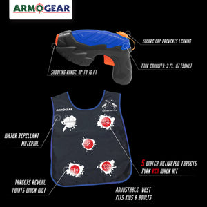 ArmoGear Water Guns & Water Activated Vests