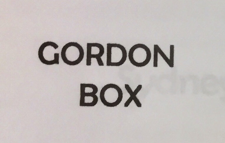 GORDON BOX N.S.W.G.R. DETAIL MODEL KITS