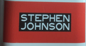 STEPHEN JOHNSON FLUX & DECAL SET.