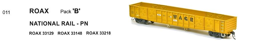 SDS Models : WAGR 011 ROAX OPEN WAGON pkB 011