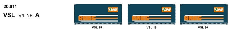 SDS Models: 20' Foot Containers: L / D / NGA / NGB / MSL / VSL: Triple Packs: VSL 20.011
