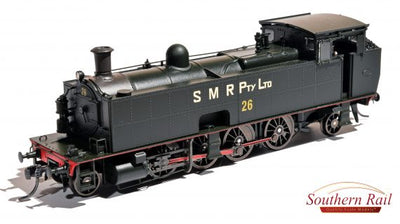 Southern Rail: SMR 10 CLASS STEAM SMR-1011 | LOCO #26 DC WITH SOUND.  sale price $670.00 (RRP is $745.00)