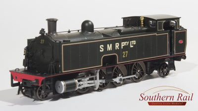 Southern Rail: SMR 10 CLASS STEAM SMR-1012 | LOCO #27 DC WITH SOUND.  sale price $670.00 (RRP is $745.00)