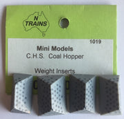 WEIGHT INSERT #1019 for CHS Wagon suits AMRI KITS WAGONS (1)  NSWGR