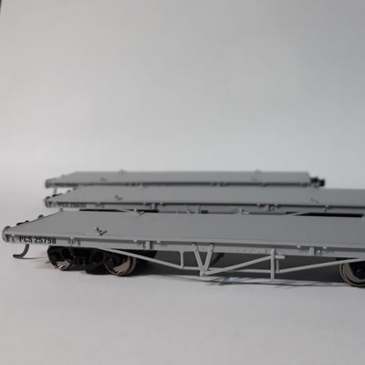 QR Wuiske Models: RTR028 KSA : pack 3.  HO PCS WAGON pack of 3 wagons