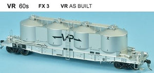 SDS Models: Victorian Railways: FX / VPFX: Bulk Flour Wagon: VR 60's: Single Pack FX3