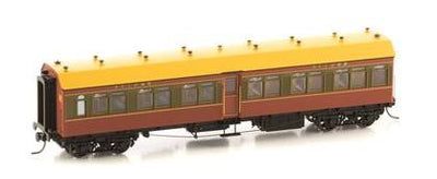 Casula Hobbies: NSWGR R Type 4 Car Set: Set 121: Tuscan Red & Russet