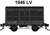 12 Casula Hobbies: PREORDER Pack 12 : pack of six 1946 LV's good's van with 6 different numbers.