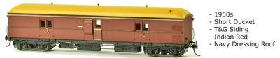 SDS Models: EHO Express Brake Van: EHO 628