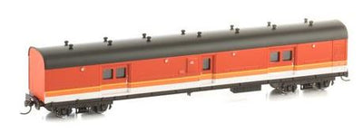 LHO $70 Save $10  Casula Hobbies: RTR LH0 1621 Candy with Black Roof, passenger brake van.