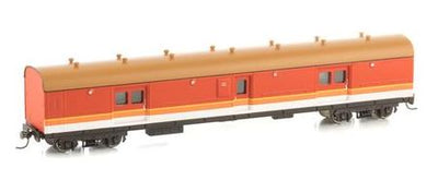 LHO $70 Save $10  Casula Hobbies: RTR LH0 1621 Candy/ navy Roof passenger brake van