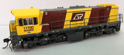 Wuiske Models: RTR059: HO : QR Corporate 1720 Class Loco: #1770D JAMES COOK