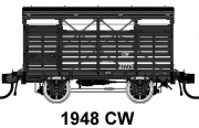 04 Casula Hobbies: PREORDER Pack 4 : CW 4 wheel Cattle Wagon, pack of Four : No's 27779, 27876, 27797, 26587