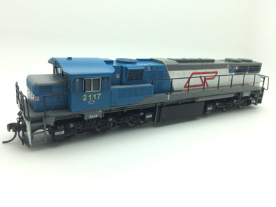 QR Wuiske Models: RTR063: HO: QR blue/gray 2100 Class Loco: #2107D DRIVER ONLY