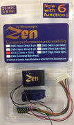 MRC: DCC CONCEPTS DECODERS: DCD-Z218 / Zen 218- 21 pin and 8 pin with 6 function with stay alive. .