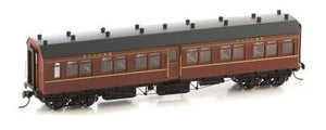 Casula Hobbies: RTR NSWGR R Type 4 Car Set: Set 121: Indian Red