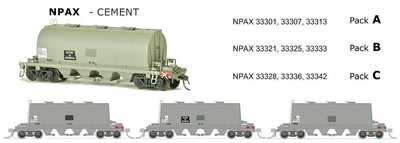 ARX SDS Models: NPAX: Cement Wagon: CEMENT GRIME PACK B.
