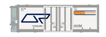 SDS: Containers; QRC B.  25' Refrigerated QR Container: Twin Pack B