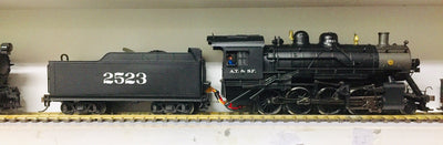 2H: Spectrum Steam HO 2-8-0 BALDWIN CONSOLIDATION SANTA FE ITEM 11415 Steam Locomotive  in GOOD CONDITION 2nd HAND