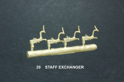 Staff Exchange (Pig Tail ) type. #29  Ozzy Brass