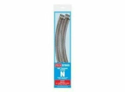 Peco N: ST-3012 - PACK OF 4 NO 1 RADIUS DOUBLE CURVES
