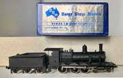 BRASS MODELS D114: BERGS BRASS MODELS - N.S.W.G.R C.30 TENDER LOCO BLACK UNDECORATED