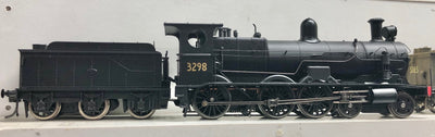 C3298 Ixion Model Railways: NSWGR 32 CLASS LOCOMOTIVE C3298 BLACK WITH 6 WHEEL TENDER,