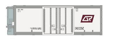 SDS: Container QRC D. 25'ft Refrigerated QR Container: Twin Pack D