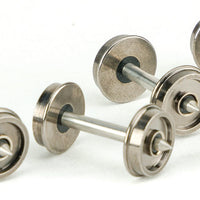 "Walthers: 36"" WHEEL SETS WITH METAL AXLES  (SINGLE) 920-2305"