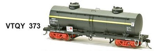 SDS Models: Vic Railways: 10000 Gallon Rail Tank Car: Single Pack: VTQY 373