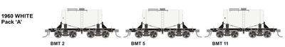 BMT SDS Models: NSWGR: BMT Milk Tank Car: 1960 White Pack B TANKS 3, 6 AND 8. SPECIAL PRICE $145  R.R.P. $189