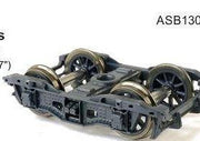 SDS Models: Bogies: 2AE - TC Bogie with Spoked Wheels HO-Scale ASB130