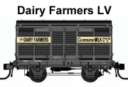 09 Casula Hobbies: PREORDER Pack 9 : Mixed Pack of four – LV Good's, LV Milk, LV Dairy Farmers, : LV 290, LV 2987 Milk, LV 1902 Dairy Farmers, CW 27873