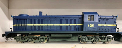 4001 Eureka Models 40 Class Loco Diesel ROYAL BLUE WITH SOUND of NSWGR,