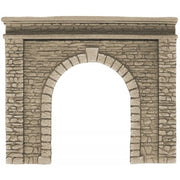58061 Noch: Tunnel Portal, single track, 15 x 12,5 cm 58061