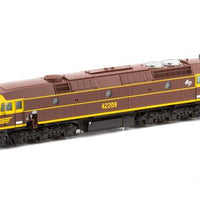422-19S-AUSCISION 42209 CLASS INDIAN RED WITH WHITE L7 with DCC SOUND