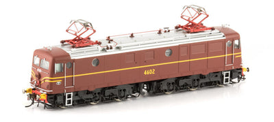 46-10 Auscison 4602 CLASS LOCOMOTIVE INDIAN RED