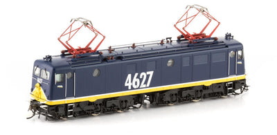 LOCO Auscision Models: 46 CLASS LOCOMOTIVE 4627 no buffers Freight Rail Blue 46-20--AM20968.