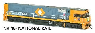 NR46 Austrains Neo: NR 46 - National Rail DCC Powered SOUND: NR Class Locomotive