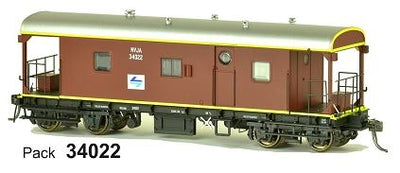 SDS Models: Guards Van: NVJA L7: Pack 34022