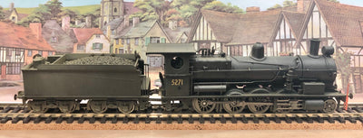 5271 Eureka Models D5271 DCC SOUND D50 Class Superheated Steam Locomotive North British Black weathered of the NSWGR. **