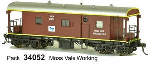 SDS Models: Guards Van: NVJA L7: Pack 34052