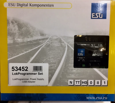 ESU 53452 LokProgrammer, Power Supply, USB Adapter Set.