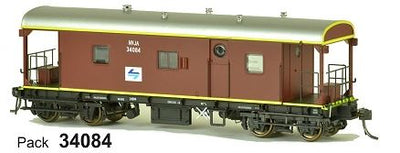 SDS Models: Guards Van: NVJA L7: Pack 34084