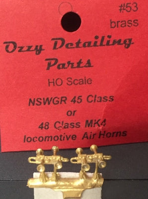 A. Ozzy Brass : Horns #53 : NSWR 45 or 48 Class Locomotives Air Horns