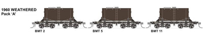 RRP $185 Save $60: BMT SDS Models: NSWGR: BMT Milk Tank Car: 1960 Weathered Pack A