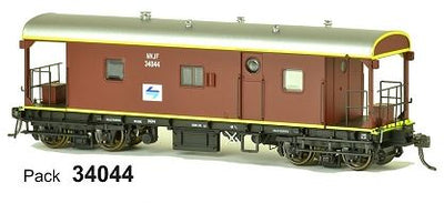 SDS Models: Guards Van: NVJF L7: Pack 34044