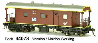 JHG - NVJF SDS Models: Guards Van: NVJF34073 with L7 Logo with Marulan / Maldon working